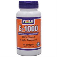 NOW Vitamin E-1000 (Natural d-Alpha)