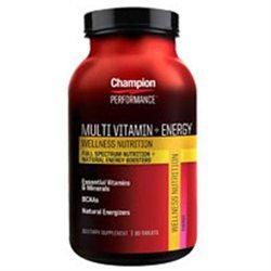 Champion Nutrition Wellness Nutrition Multi Vitamin + Energy