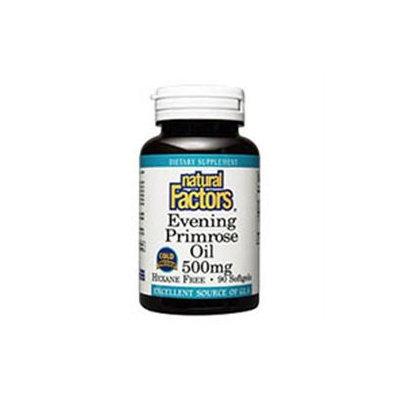 Evening Primrose Oil 500mg 180 Softgels, Natural Factors