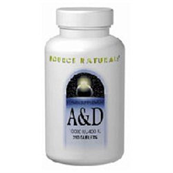 Source Naturals Vitamin A and D - 100 Tablets