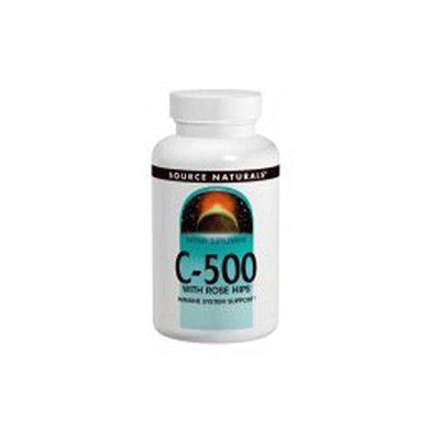 Source Naturals C-500 with Rosehips - 500 mg - 100 Tablets