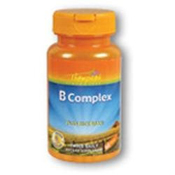 Vitamin B Complex with Rice Bran 60 tabs, Thompson Nutritional Products