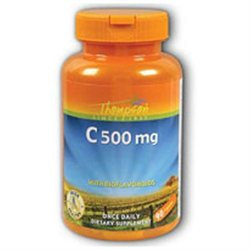 C with Bioflavonoids 500mg by Thompson Nutritional - 90 Tablets