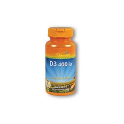 Vitamin D 400 IU Fish Liver Oil 30 softgels, Thompson Nutritional Products