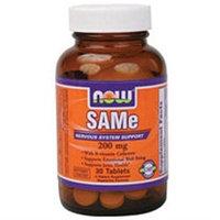 NOW Foods SAMe, 200mg, Tablets, 60 ea