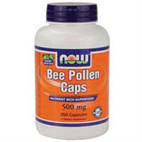 NOW Foods Bee Pollen 500 mg Caps