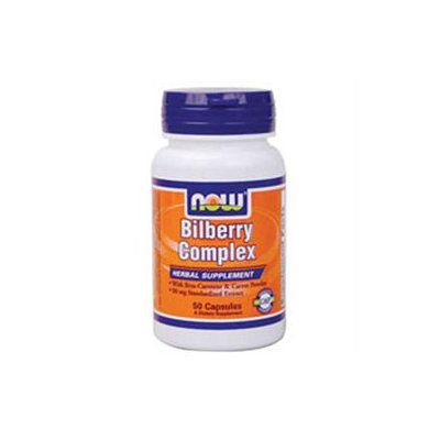 NOW Foods - Bilberry Complex 80 mg. - 50 Capsules