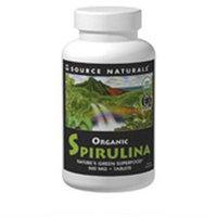 Source Naturals Organic Spirulina - 500 mg - 100 Tablets