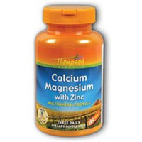 Cal Mag with Zinc 180 tabs, Thompson Nutritional Products