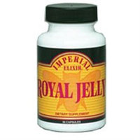 Royal Jelly 500mg by Imperial Elixir Ginseng - 50 Capsules