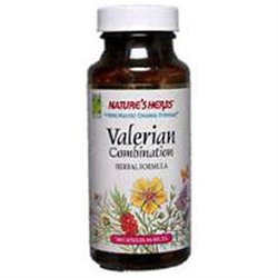 tures Herbs Valerian Root Combination by Nature's Herbs - 100 Capsules