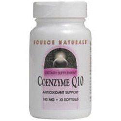Source Naturals Coenzyme Q10 - 100 mg - 60 VegaGels