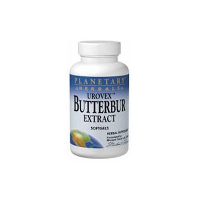 Planetary Herbals Urovex Butterbur Extract - 50 Softgels