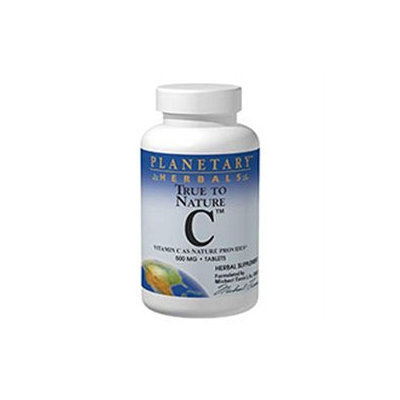 Planetary Herbals - True To Nature C 500 mg. - 60 Tablets