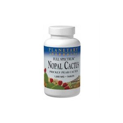 Planetary Herbals Full Spectrum Nopal Cactus 1,000 mg Tabs