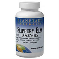 Planetary Herbals Slippery Elm Lozenges Tangerine - 200 mg - 100 Lozenges