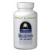 Source Naturals Melatonin Timed Release - 2 mg - 240 Tablets