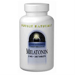 Source Naturals Melatonin Timed Release - 2 mg - 240 Tablets