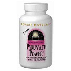 Source Naturals Pyruvate Power 750mg, Capsules