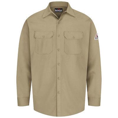 Bulwark FR Excel 100% Cotton 7oz Work Shirt SEW2