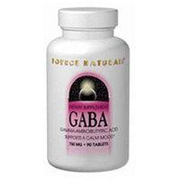 Source Naturals GABA - 750 mg - 45 Tablets