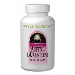 Source Naturals - Acetyl L-Carnitine 500 mg. - 30 Tablets