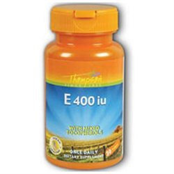 Vitamin E 400 IU with Mixed Tocopherols 30 softgels, Thompson Nutritional Products