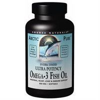 Source Naturals ArcticPure Enteric Coated Ultra Potency Omega-3 Fish Oil