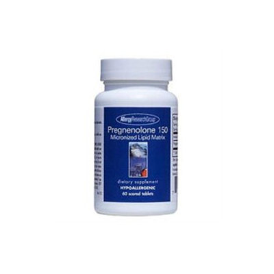 Nutricology/ Allergy Research Group Pregnenolone Micronized Lipid Matrix 150mg by NutriCology - 60 Tablets