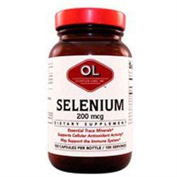 Selenium 200mcg 100 caps by Olympian Labs