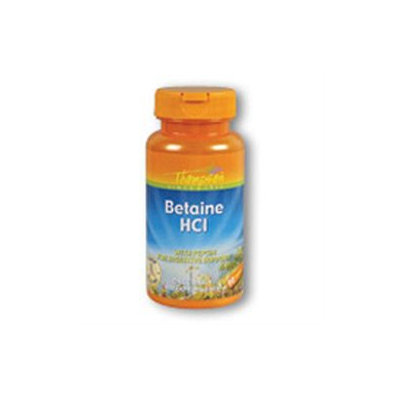 Betaine HCl with Pepsin 324mg 90 tabs, Thompson Nutritional Products