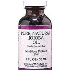 Pure Natural Jojoba Oil, 1 oz, Heritage Products