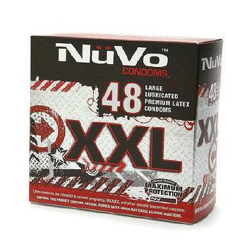 Nuvo XXL Lubricated Premium Latex Condoms