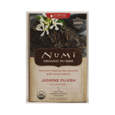 Numi Organic Tea Jasmine Pu-erh