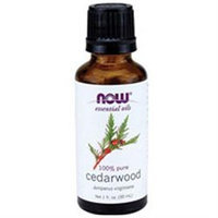 Now Foods, Cedarwood Oil, 1 Fl Oz, (30 Ml)