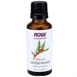 Now Foods, Cedarwood Oil, 1 Fl Oz, (30 Ml)