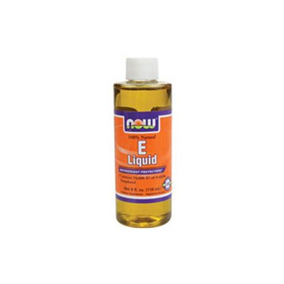 NOW Foods - E Liquid d-alpha Tocopherol 54600 IU - 4 oz.