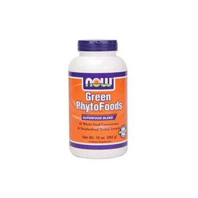 NOW Foods Green Phytofoods Powder, 10 oz
