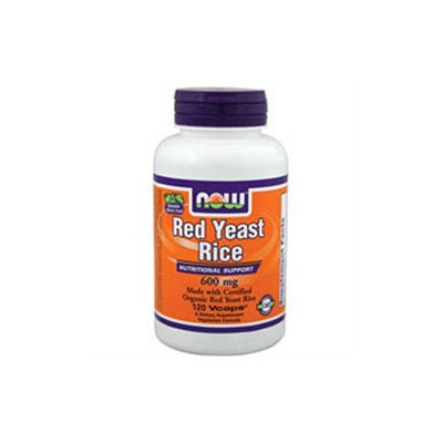 NOW Foods Red Yeast Rice Extract 600 mg VCaps