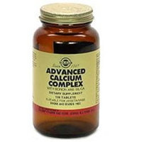 Solgar Advanced Calcium Complex - 120 Tablets - Calcium Combinations