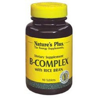 B-Complex with Rice Bran 90 Tablets from Nature's Plus