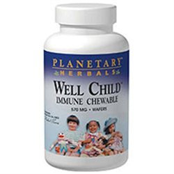 Planetary Herbals Well Child Immune Chewable