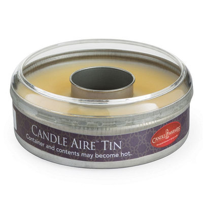 Candle Warmers Etc. Aire Frosted Cake Wax Melt Tin, White