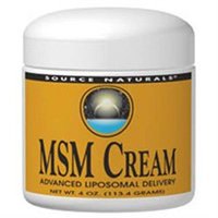 Source Naturals MSM Joint Response Cream