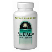 Source Naturals Pau D'Arco - 500 mg - 250 Tablets