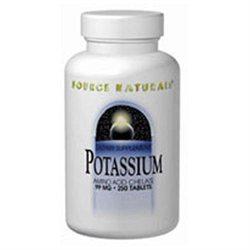 Source Naturals - Potassium Amino Acid Chelate 99 mg. - 100 Tablets