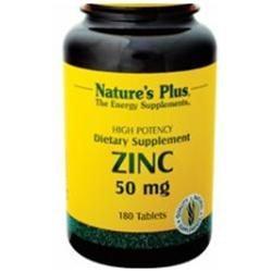 Nature's Plus Zinc 50 MG - 180 Tablets - Zinc