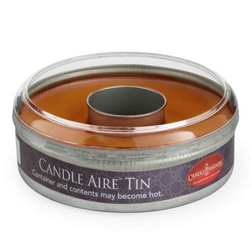 Candle Warmers Etc. Aire Pumpkin Spice Wax Melt Tin, Brown