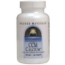 Source Naturals CCM Calcium - 300 mg - 60 Tablets