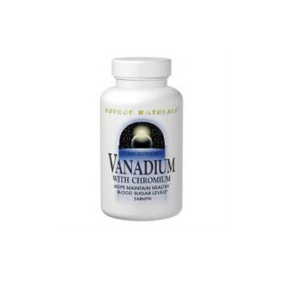 Source Naturals Vanadium with Chromium - 90 Tablets